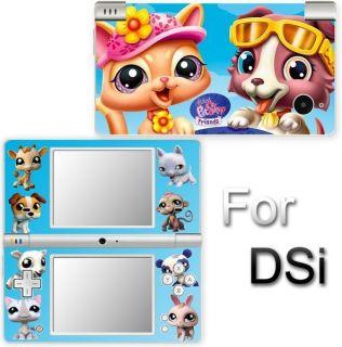 Littlest Pet Shop SKIN COVER STICKER for Nintendo DSi 2