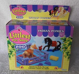 Littlest Pet Shop Polar Pets, Jungle Bunch and Indian Ponies Vintage