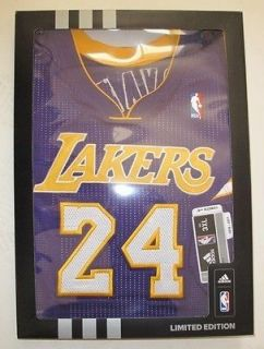 REV 30 LOS ANGELES LAKERS KOBE BRYANT PURPLE LIMITED EDITION JERSEY