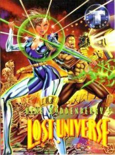 Gene Roddenberrys Lost Universe Promo Card/Tekno Comix