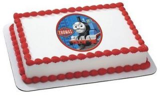 Thomas & Friends Tank Engine ~ Edible Image Icing Cake, CupcakeTopper