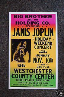 janis joplin poster in Entertainment Memorabilia