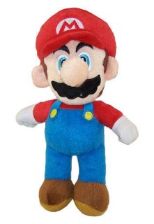 Super Mario   Plush Figure   MARIO ( 9 inch )   Stuffed Animal Toy
