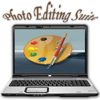Digital Photo Editing Suite & Graphics Software   Supports Photoshop
