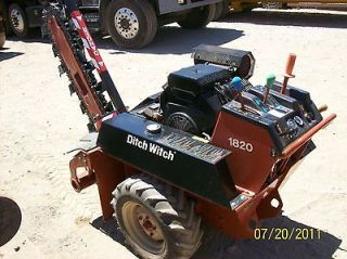 Ditch Witch 1820 Trencher  Low Hours *** Excellent condition ***