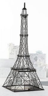 Metal Eiffel Tower Card Box Wedding Card Box Wedding Money holder