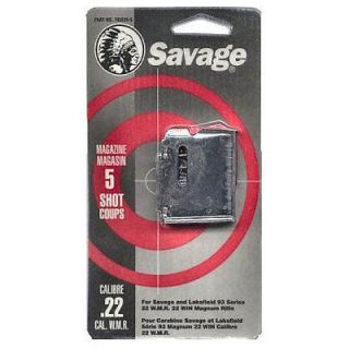 Savage 90 Series Magazine .22 Magnum & .17HMR 5 Rounds Blued 90001