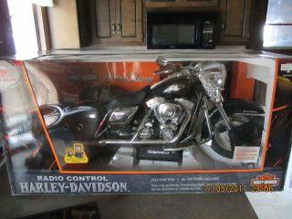 Harley Davidson new bright Radio control rc motorcycle(Very Large