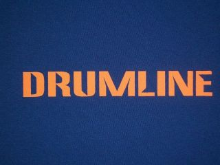 DRUMLINE T Shirt      Band     Music     Drum     Marching   ITALIC