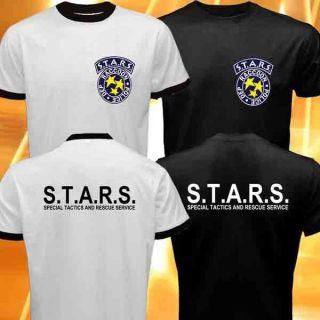 DEP Racoon Police Resident Evil Umbrella Corp Game Logo Symbol T Shirt