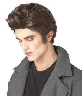 LOVE AT FIRST BITE EDWARD TWILIGHT VAMPIRE FUNNY HALLOWEEN COSTUME WIG