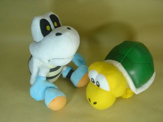 listed DRY BONES KOOPA TROOPA 6 SUPER MARIO BROS PLUSH DOLL LOT OF 3