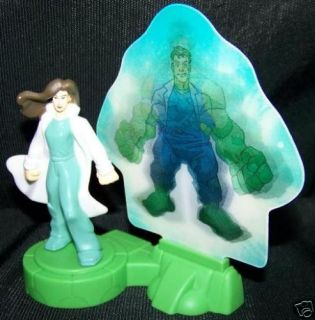 Burger King Toy THE INCREDIBLE HULK MOVIE Hulk Out