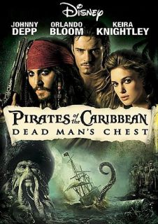 Pirates of the Caribbean Dead Mans Chest (DVD, 2006, Widescreen