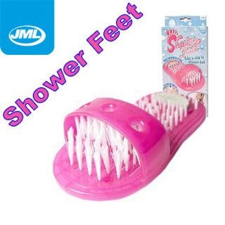 JML Shower Feet Foot Washer Clean Scrubs Cleaner As Seen On TV Easy
