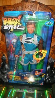 Max Steel  Going Turbo  Mattel 12 1/6 GI Joe Action Man Figure