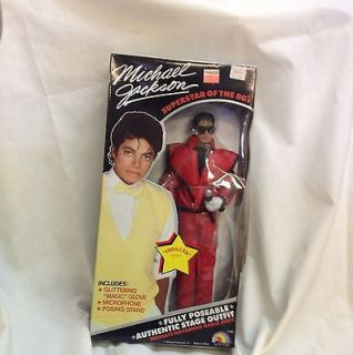 michael jackson doll vintage in Dolls