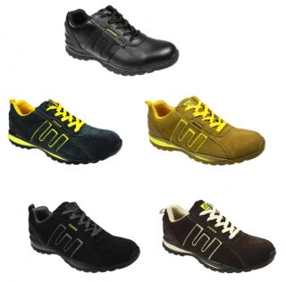 Mens Groundwork Safety Steel Toe Cap Trainers