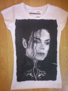 MICHAEL JACKSON POP MUSIC THE BEST VEST TANK TOP WHITE LADIES WOMEN T