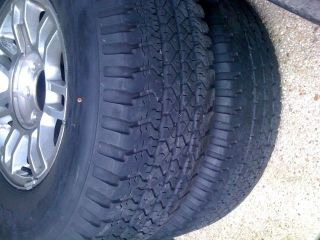 Goodyear Wrangler RTS tires and rims, 265, 75, 16 (4 tires)