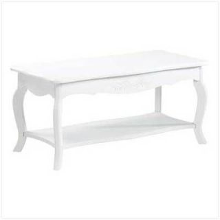 white coffee table in Tables