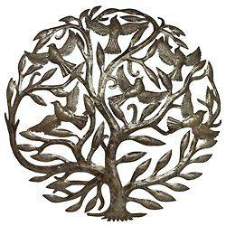 tree of life metal wall art in Wall Sculptures