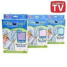 TURBIE TWIST~~MICROFIBER HAIR TOWEL~~TWIST & LOOP~~NIP~~U PICK COLOR