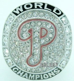 2008 MLB Philadelphia Phillies Baseball World Series Champions Ring