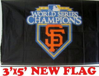 NEW SAN FRANCISCO GIANTS MLB WORLD SERIES CHAMPIONS 2010 FLAG BANNER
