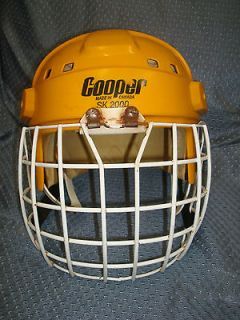 Vintage Cooper SK 2000 Ice Hockey Helmet Messier Oilers Style with