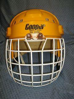 Vintage Cooper SK 2000 Ice Hockey Helmet Messier Oilers Style with
