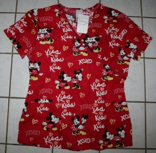 mickey mouse scrubs in Tops
