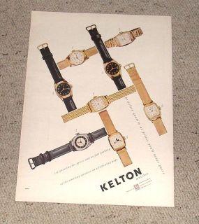 1947 Kelton Watch Ad Mickey Mouse Watch.
