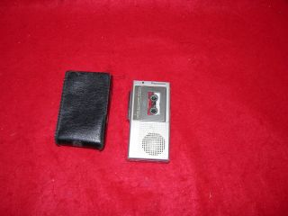Voice Activated System Micro Cassette Recorder RN 109A Transcriber