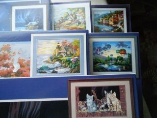 Paintworks Large Paint by Number Kits 30 Designs to choose from A
