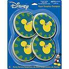 Mickey Mouse or Minnie Mouse party favor spinning tops