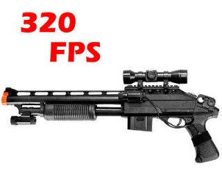 airsoft sniper rifle w scope