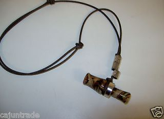 Newly listed 2 CAMO  Mini, WORKING, Duck Call Necklace  (S)