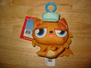 Plush GINGERSNAP Toy w/Secret Code Mind Candy Cute Kittie Cat New