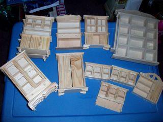 miniature dollhouse furniture lots
