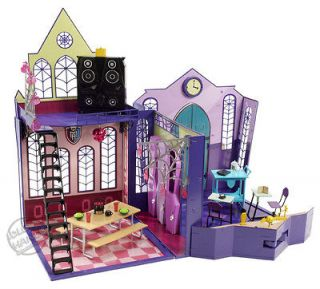 MONSTER HIGH SCHOOL DOLL HOUSE PLAY SET BRAND NEW IN BOX WORLDWIDE