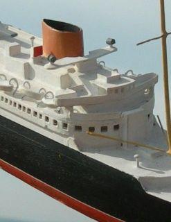 BASSETT LOWKE NORTH GERMAN LLOYD SS BREMEN WATERLINE MODEL SHIP