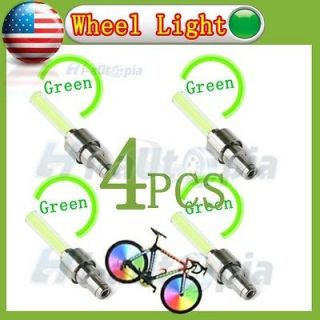 New Car Bike Bicycle Motorcycle Sensor Tyre Tire Wheel Led Light