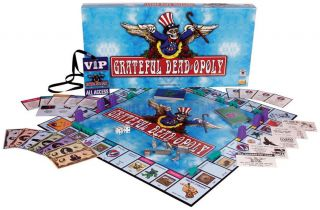 Monopoly Grateful Dead opoly   Board Game NEW NIP dead Deadopoly