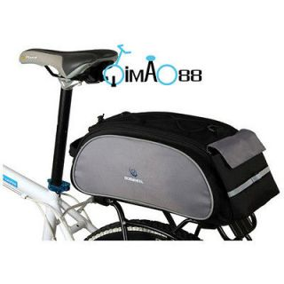 Cycling Bike Bicycle Frame pack multi function Bag pannier with