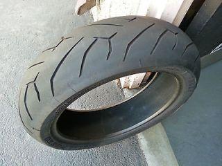 Pirelli Diablo Rear Motorcycle Tire 160/60 17 TAKEOFF