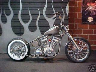 Custom Built Motorcycles  Bobber Bobber Rolling Chassis