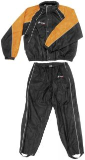 FROGG TOGG HOGG TOGG MOTORCYCLE HARLEY RAIN SUIT BLACK SIZE SMALL BMW