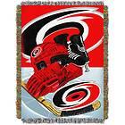 Carolina Hurricanes NHL Woven Tapestry 48x60 Throw Blanket