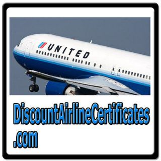 Airline Certificates TRAVEL/AIR VOUCHER/FLIGHTS/TICKETS DOMAIN